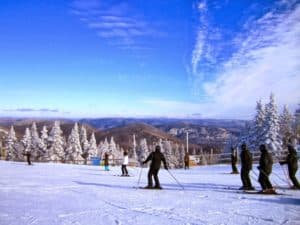 Skiing destinations