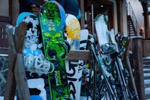 elements of a snowboard